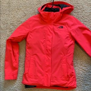 NWOT Women's North Face Layered Coat